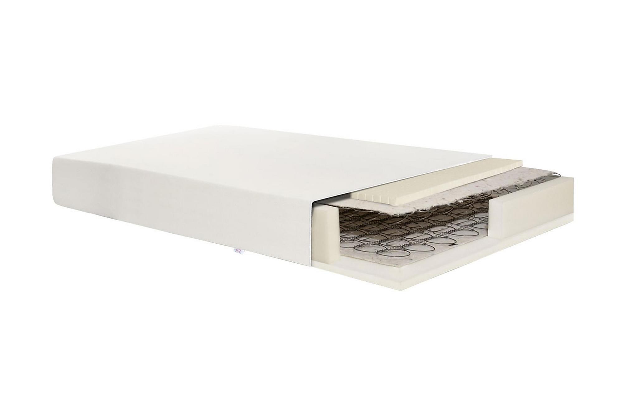 DOLMAR Madrass 195x80x12 Ensidig minibonell jednostronny + l, Resårmadrasser