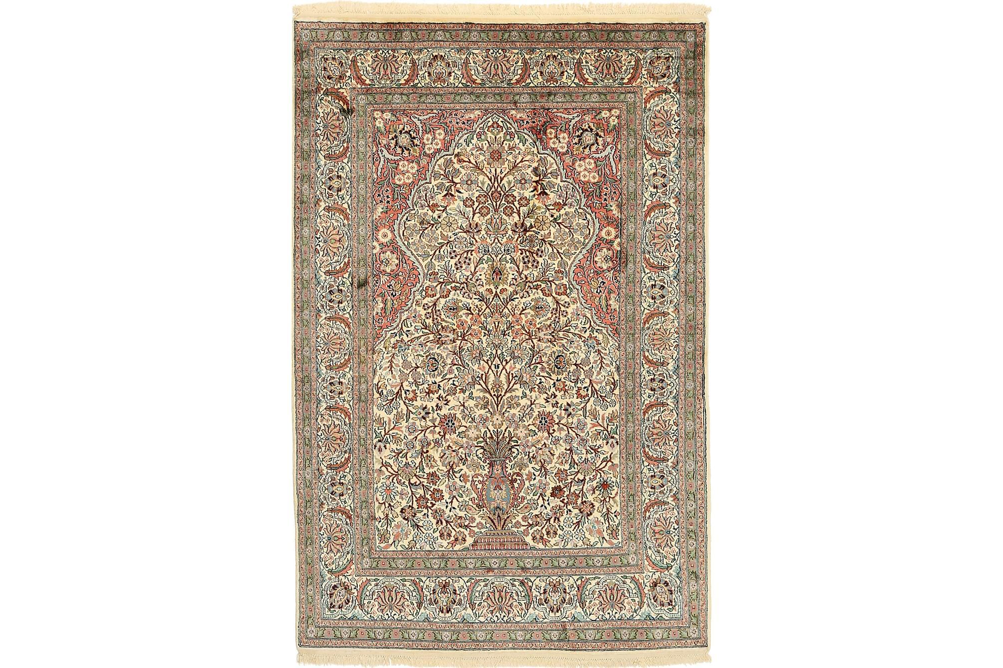 ORIENTALISK Silkesmatta Kashmir 122×186
