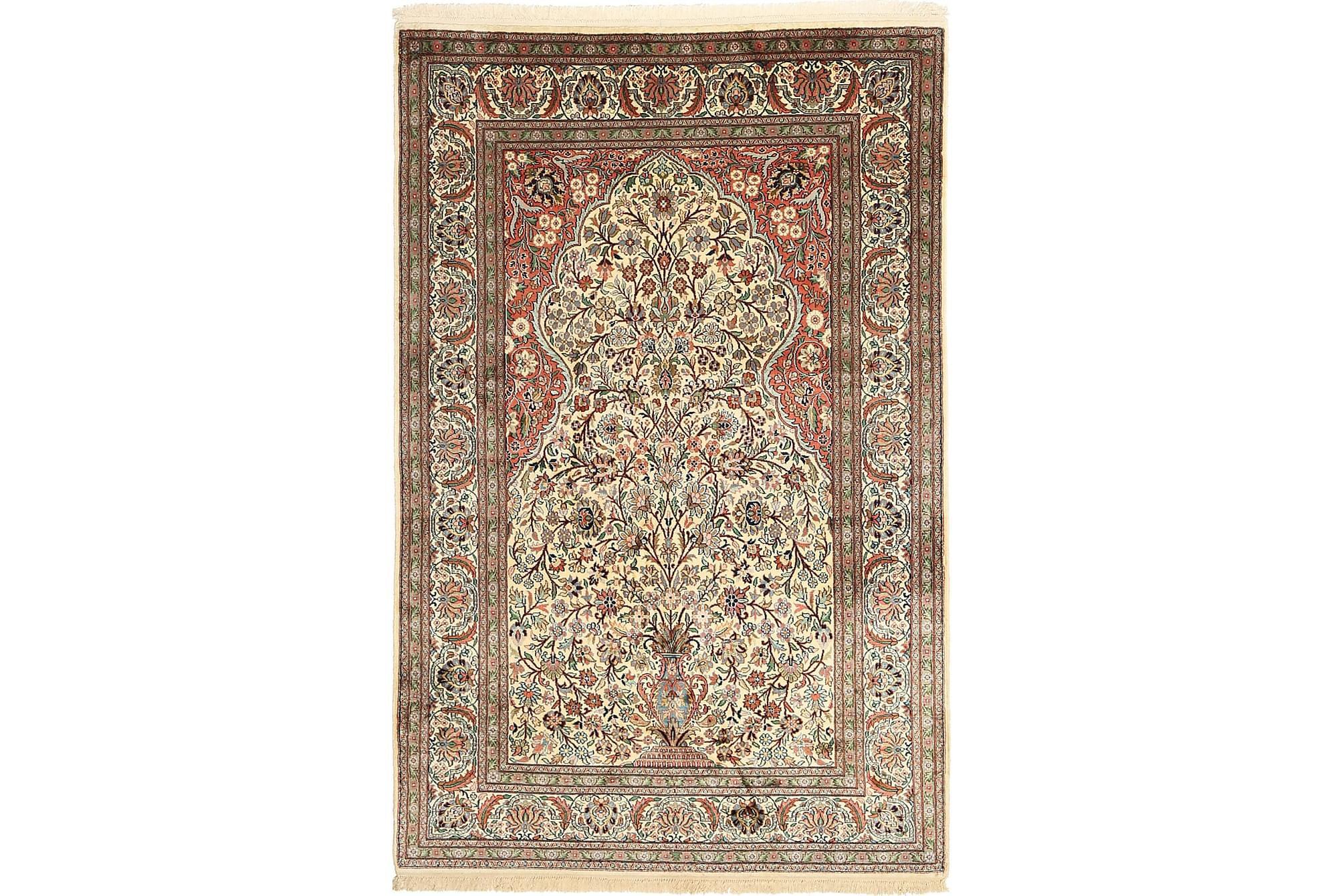 ORIENTALISK Silkesmatta Kashmir 122×192
