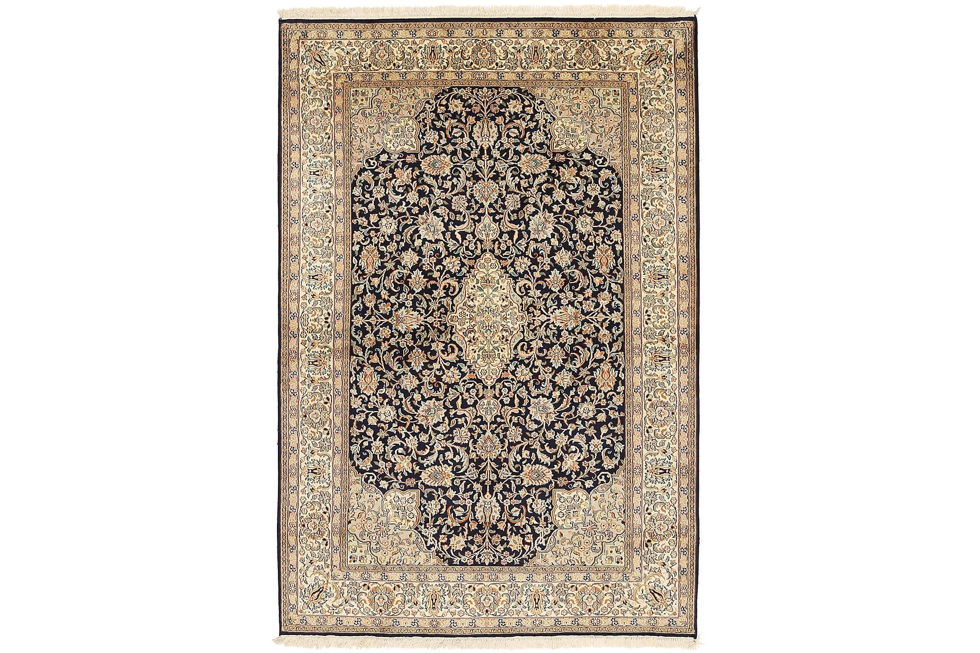 ORIENTALISK Silkesmatta Kashmir 126×185