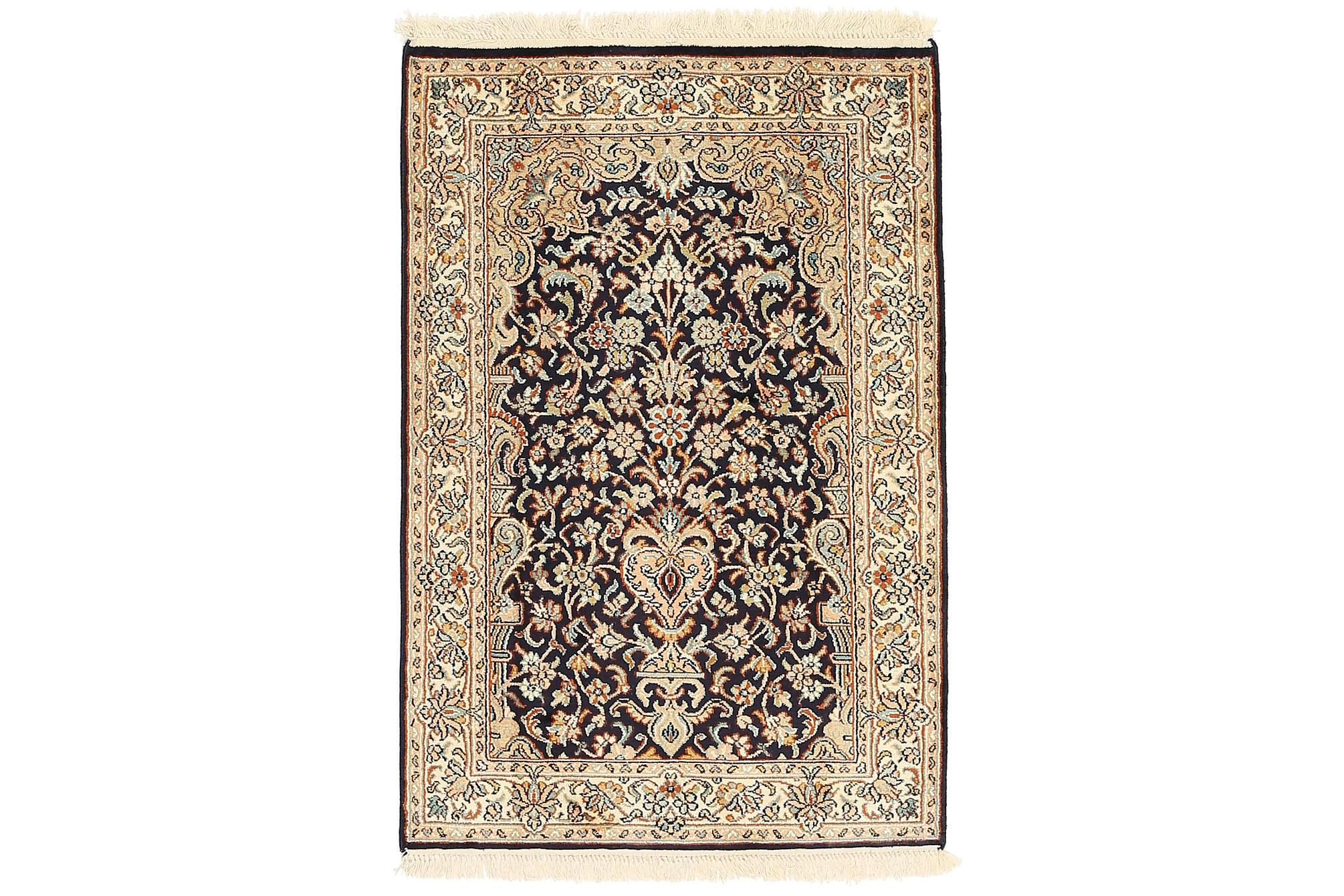 ORIENTALISK Silkesmatta Kashmir 62×93