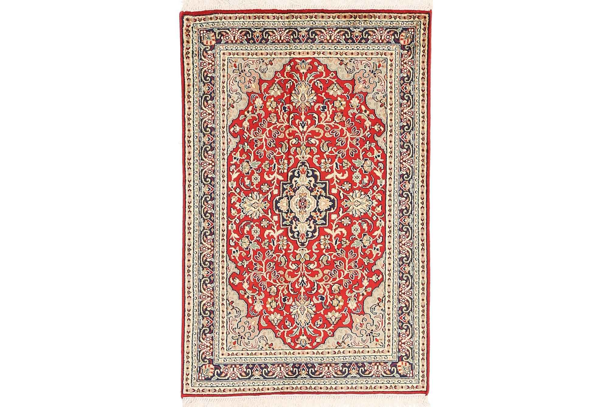 ORIENTALISK Silkesmatta Kashmir 62×96
