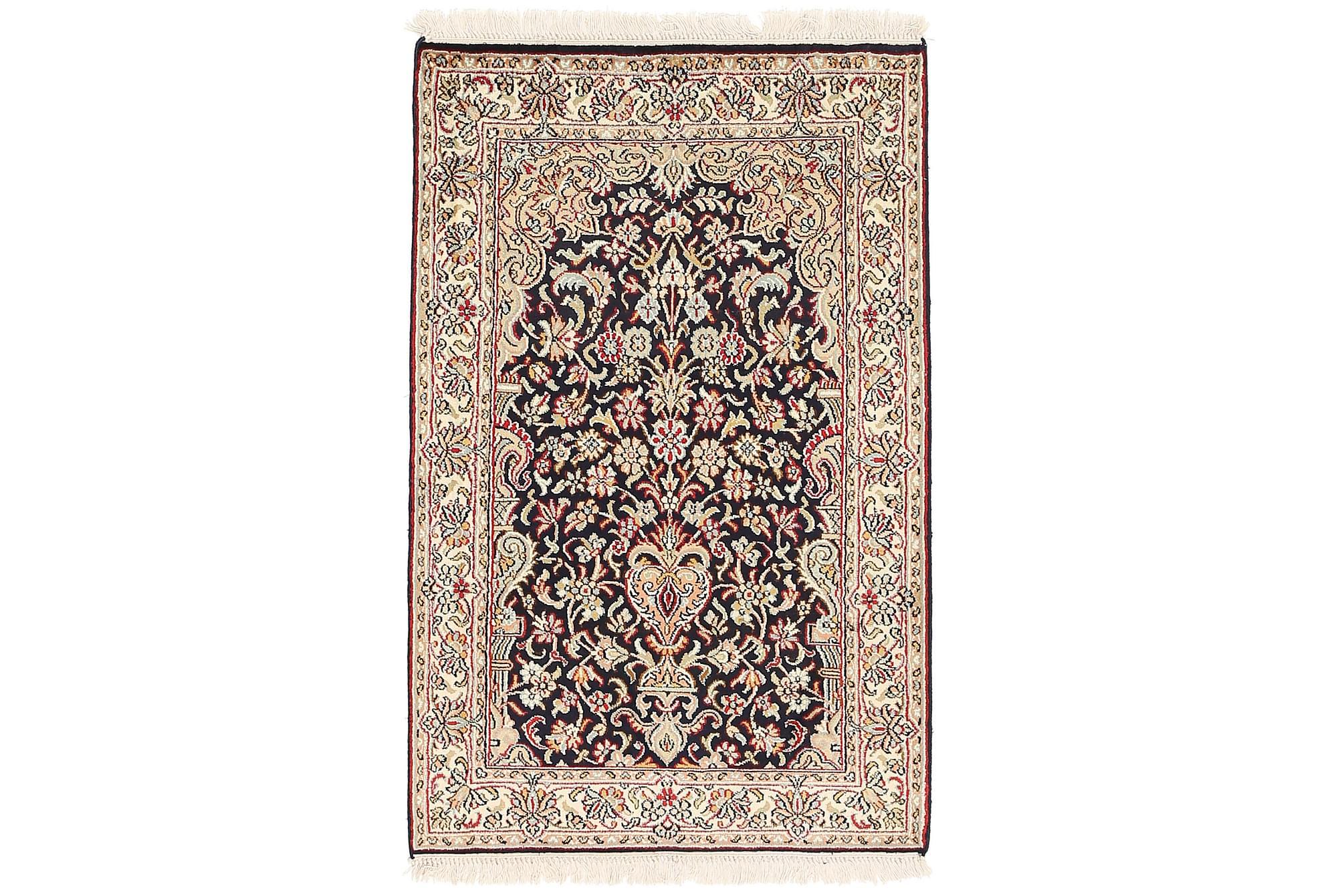 ORIENTALISK Silkesmatta Kashmir 62×97