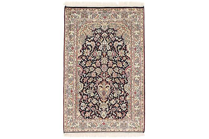 ORIENTALISK Silkesmatta Kashmir 62x97 - Flerfärgad - Möbler & Inredning - Mattor - Äkta silkesmattor