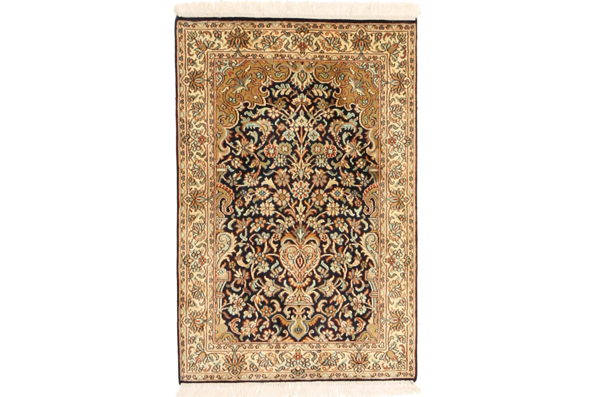 ORIENTALISK Silkesmatta Kashmir 63×97