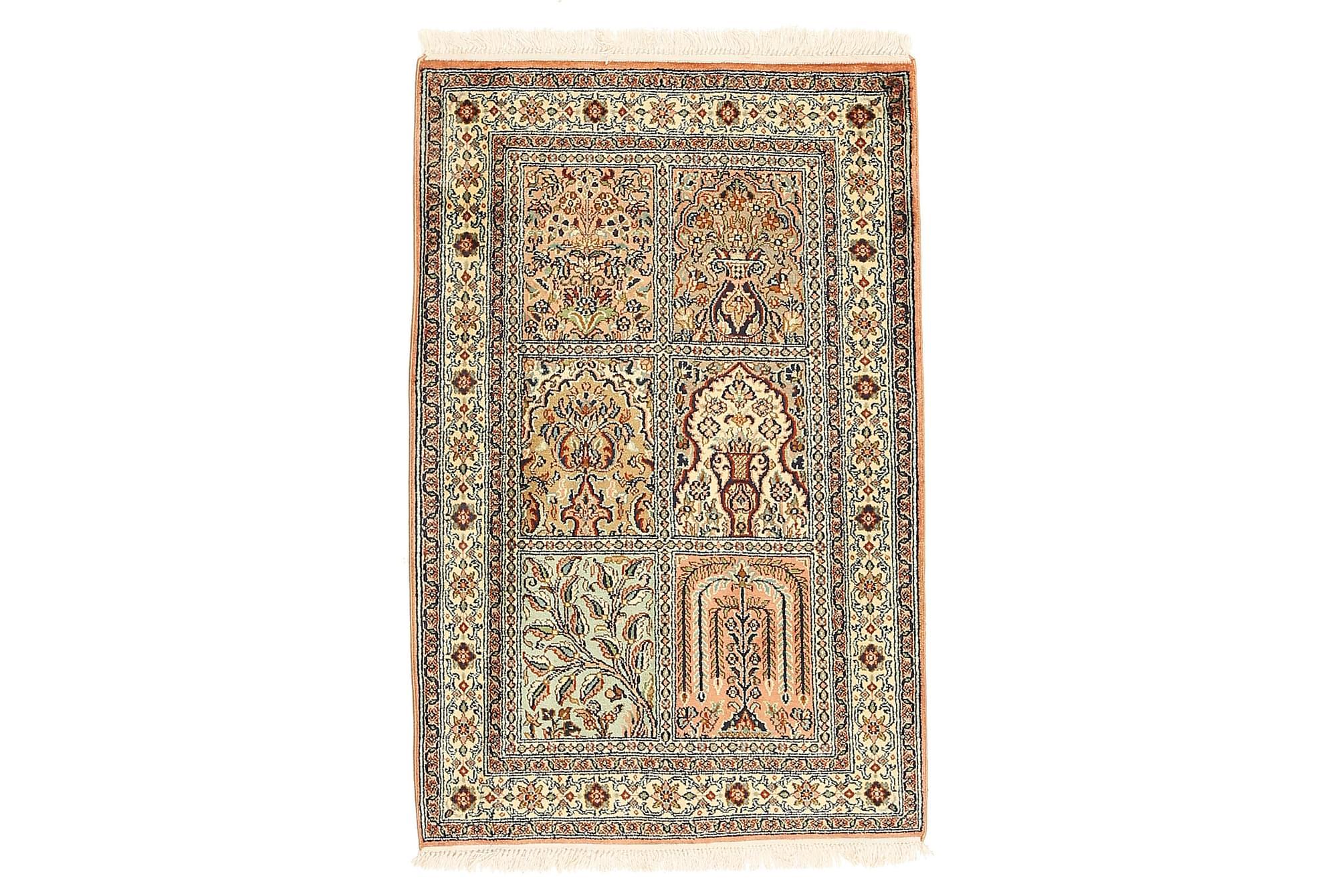 ORIENTALISK Silkesmatta Kashmir 64×96