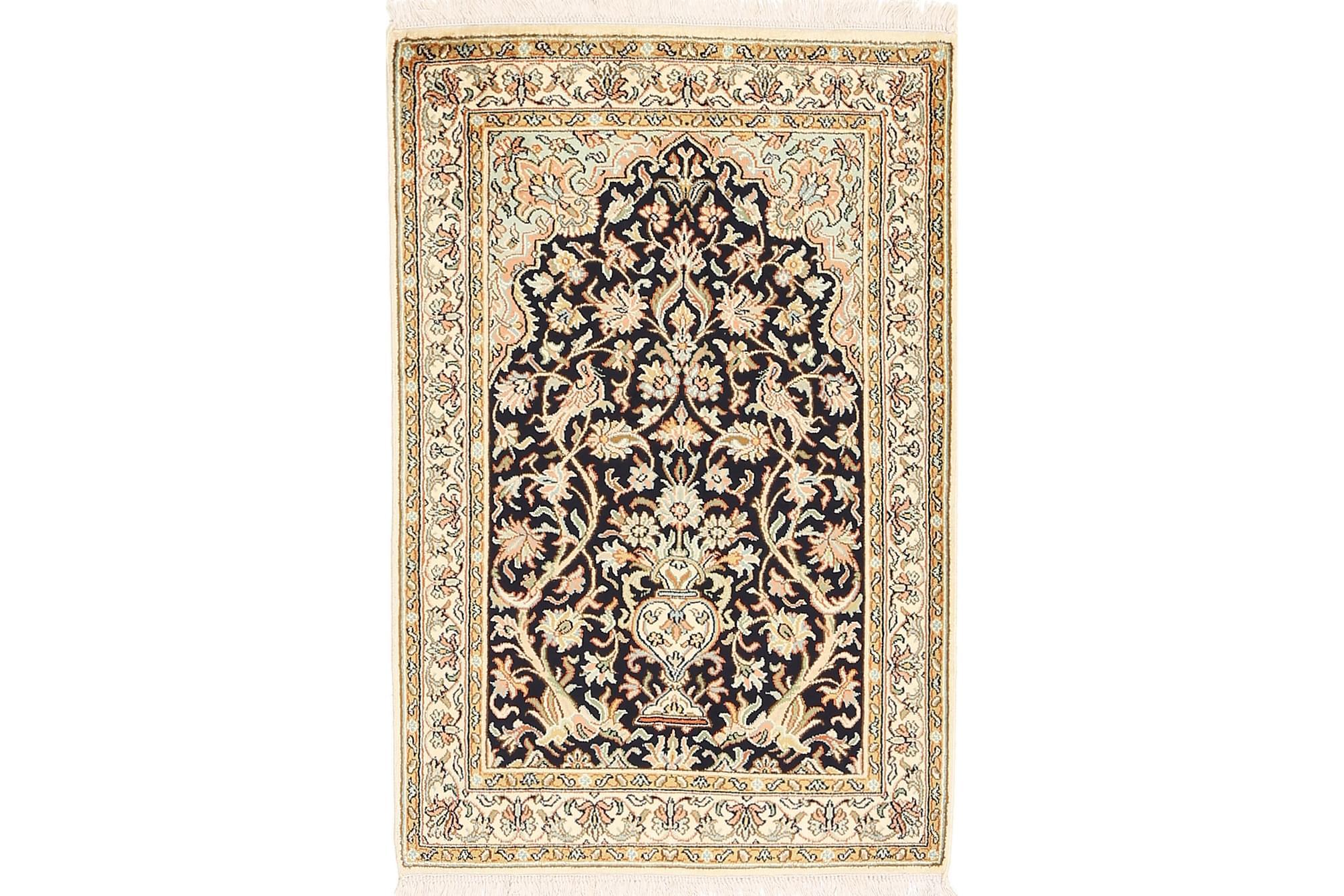 ORIENTALISK Silkesmatta Kashmir 65×96