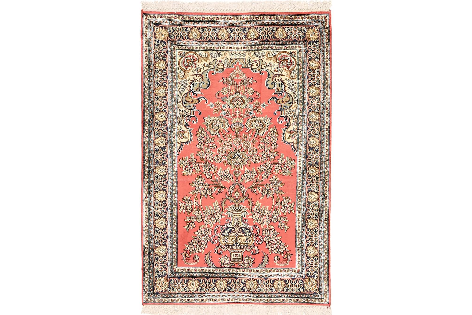 ORIENTALISK Silkesmatta Kashmir 78x121, Äkta silkesmattor