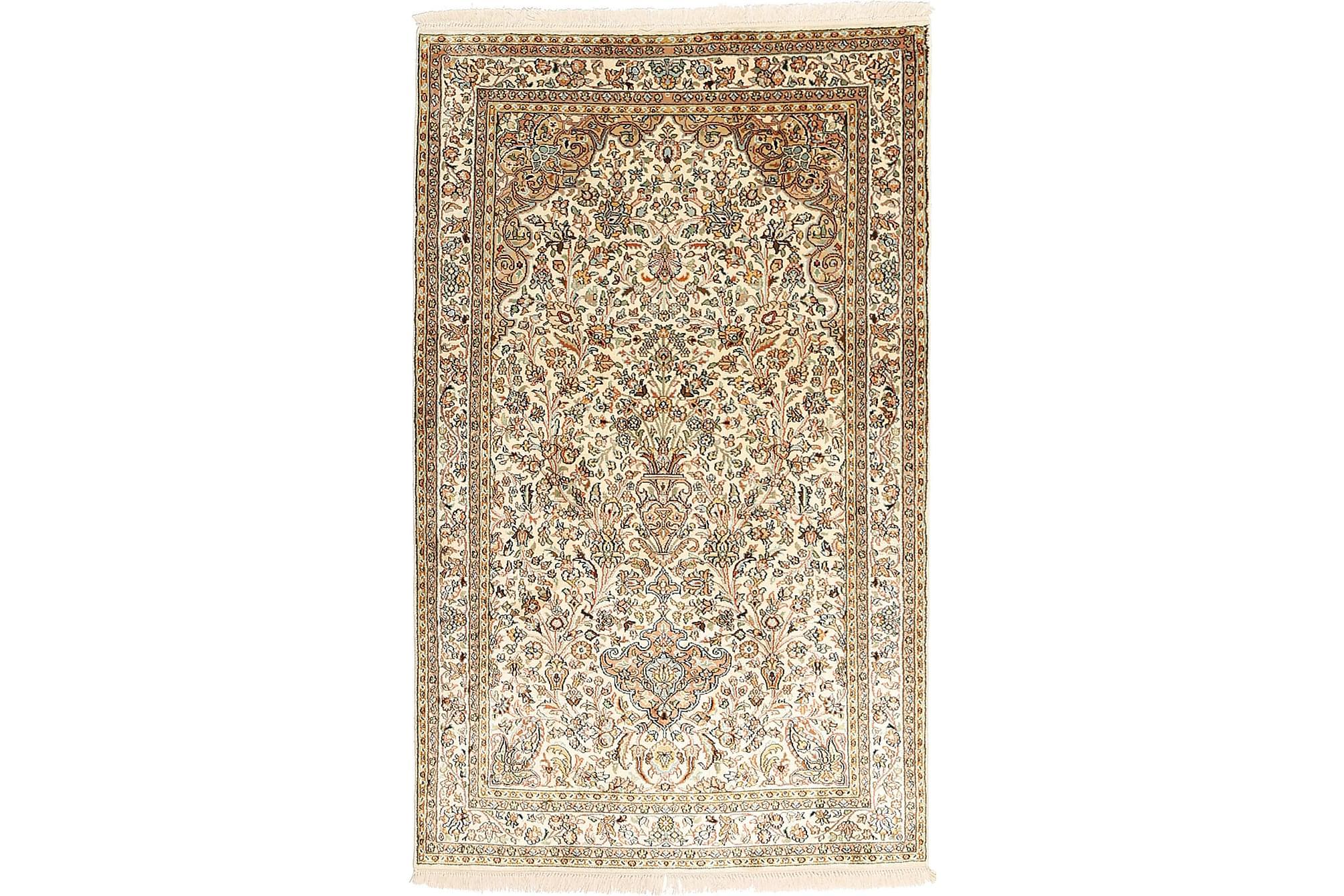 ORIENTALISK Silkesmatta Kashmir 94×154
