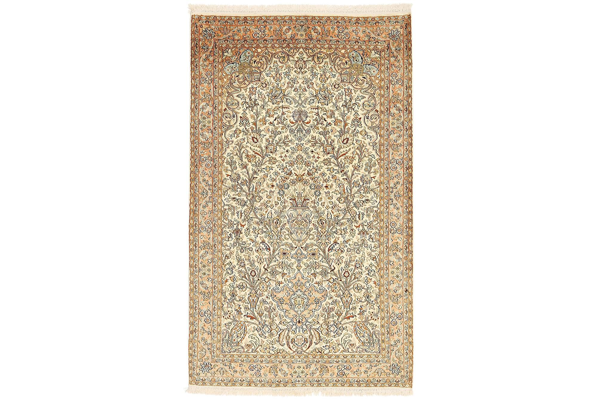 ORIENTALISK Silkesmatta Kashmir 94×158
