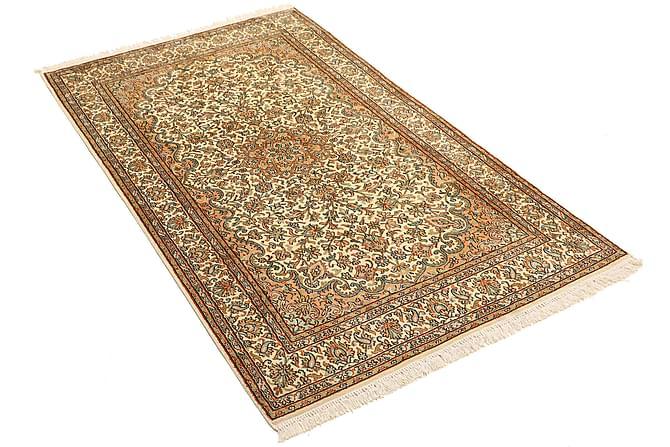 ORIENTALISK Silkesmatta Kashmir 94x159 - Beige|Brun - Möbler & Inredning - Mattor - Äkta silkesmattor