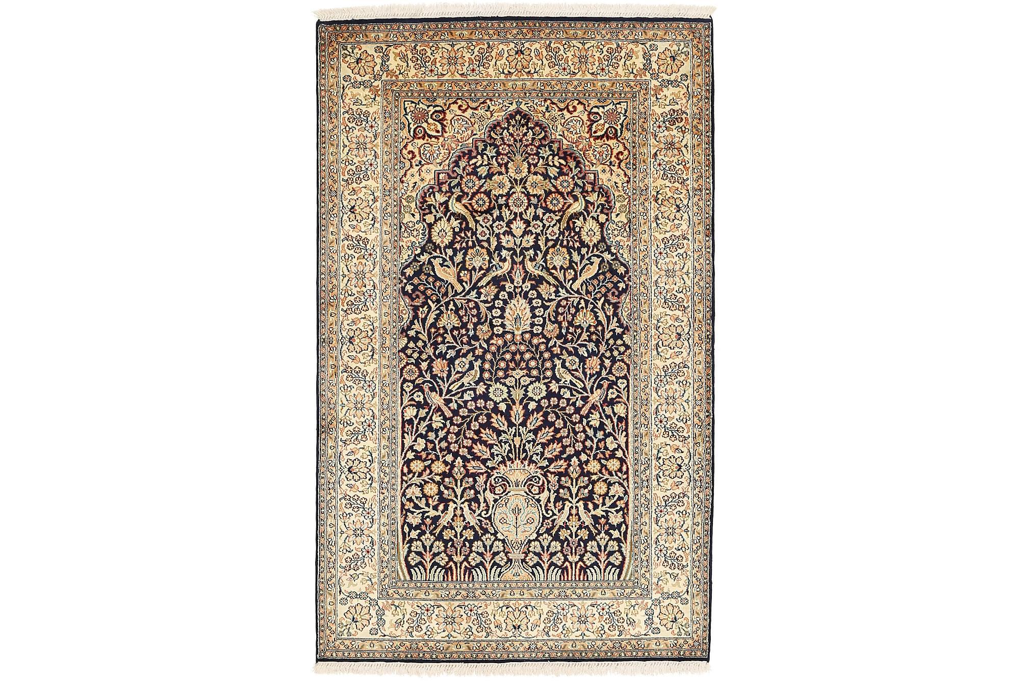 ORIENTALISK Silkesmatta Kashmir 95×155