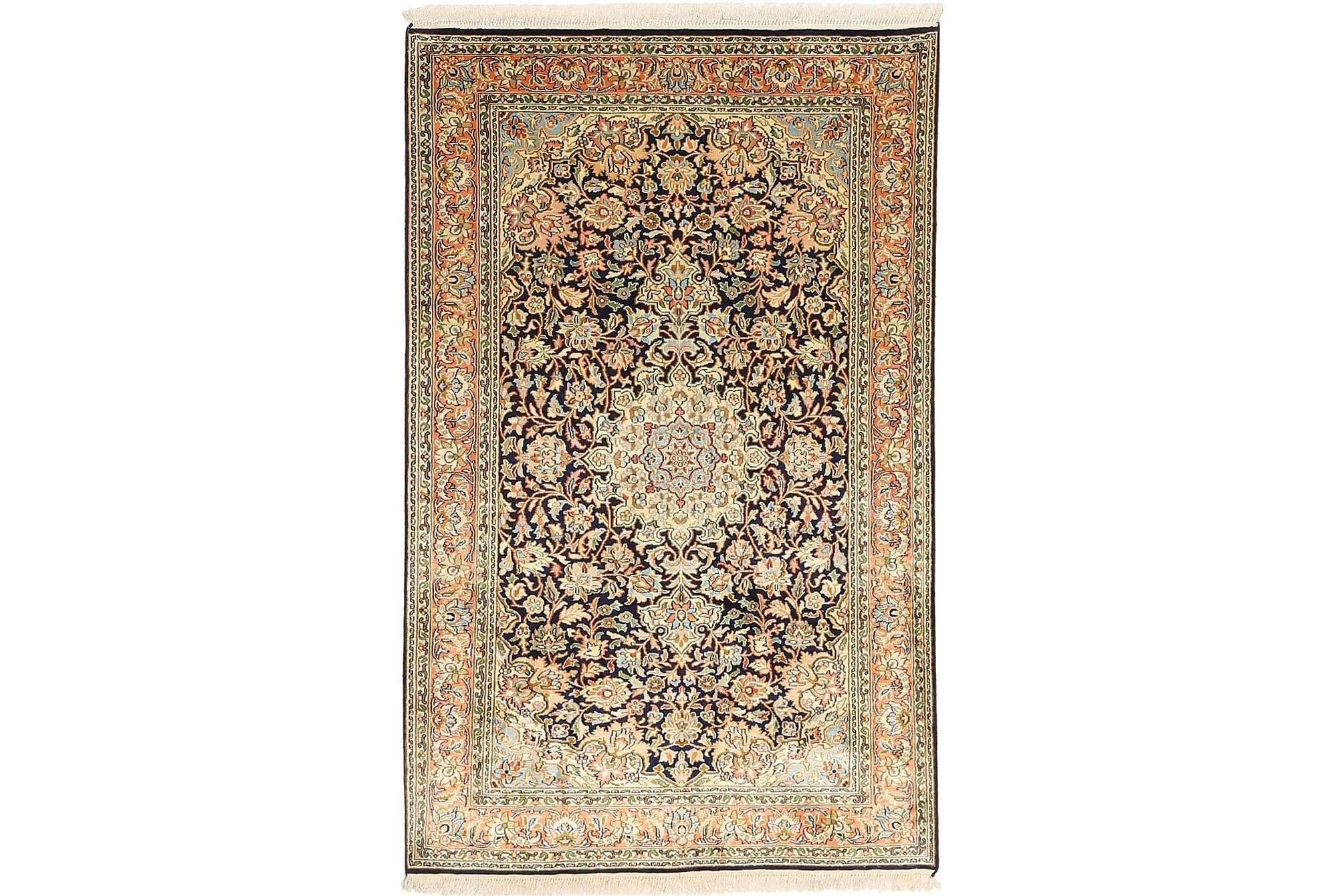 ORIENTALISK Silkesmatta Kashmir 96×154