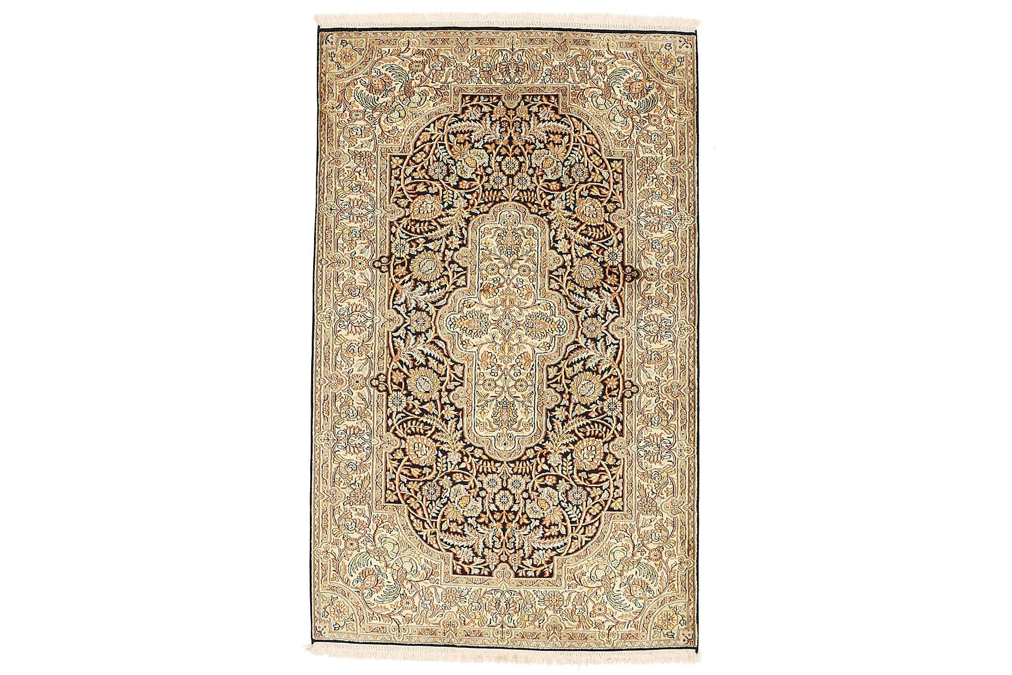 ORIENTALISK Silkesmatta Kashmir 97×156
