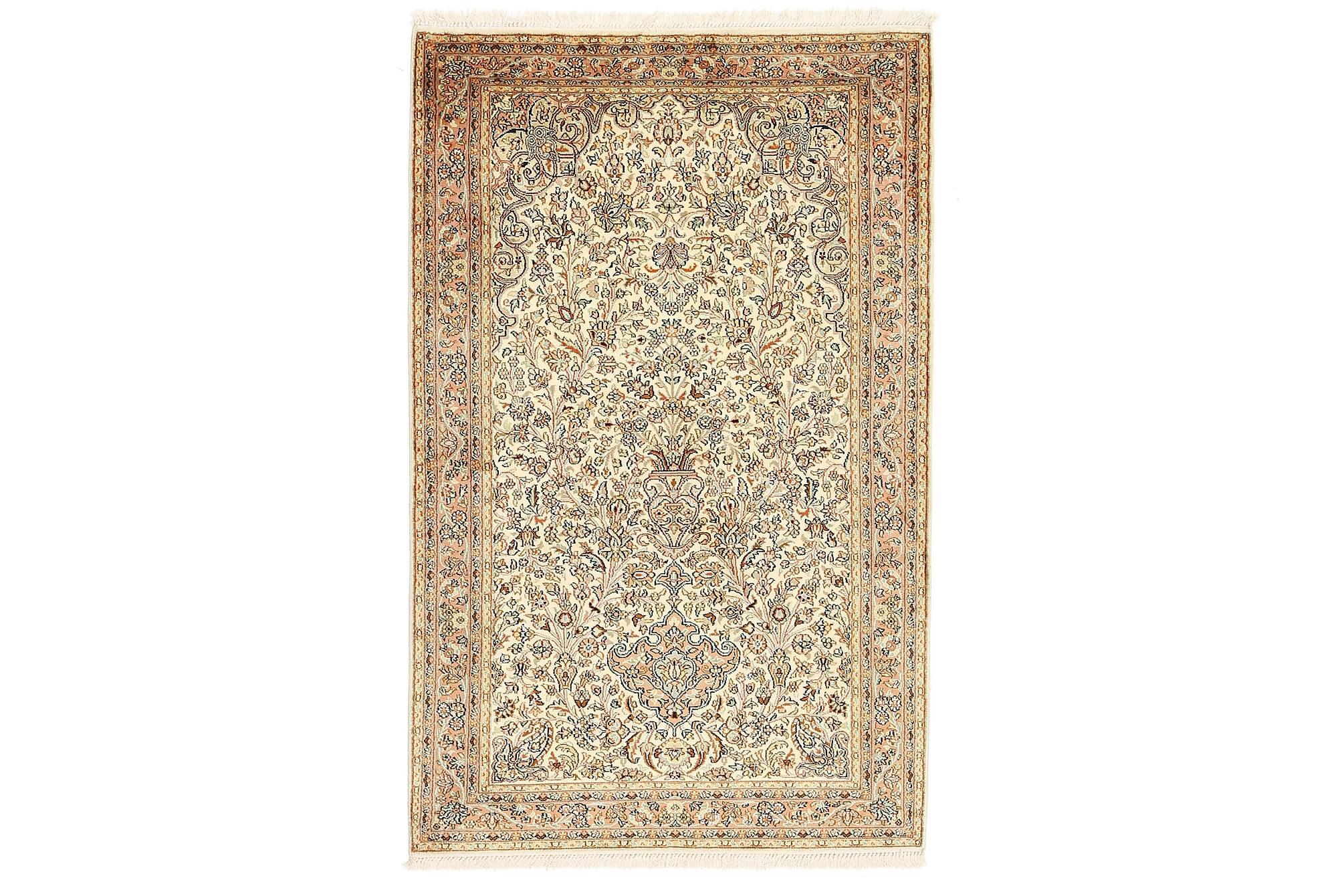 ORIENTALISK Silkesmatta Kashmir 97x159, Äkta silkesmattor