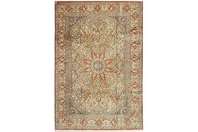 STOR Silkesmatta Kashmir 190x277 - Flerfärgad - Möbler & Inredning - Mattor - Äkta silkesmattor