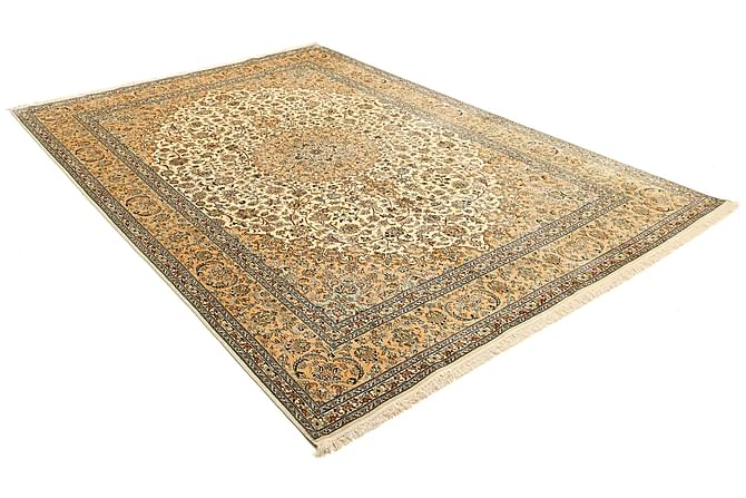 STOR Silkesmatta Kashmir 212x315 - Beige|Brun - Möbler & Inredning - Mattor - Äkta silkesmattor