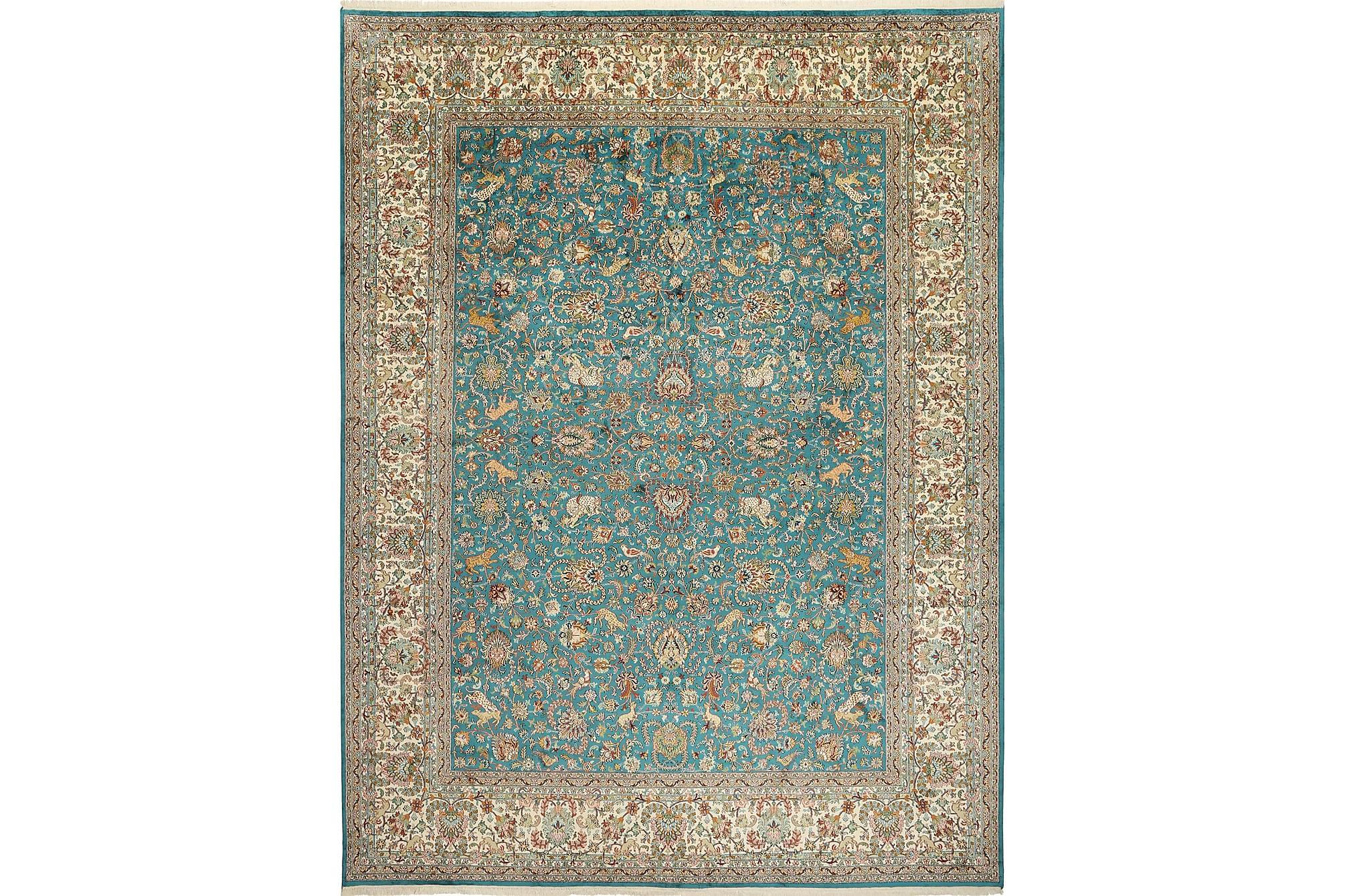 Stor Silkesmatta Kashmir 278×374