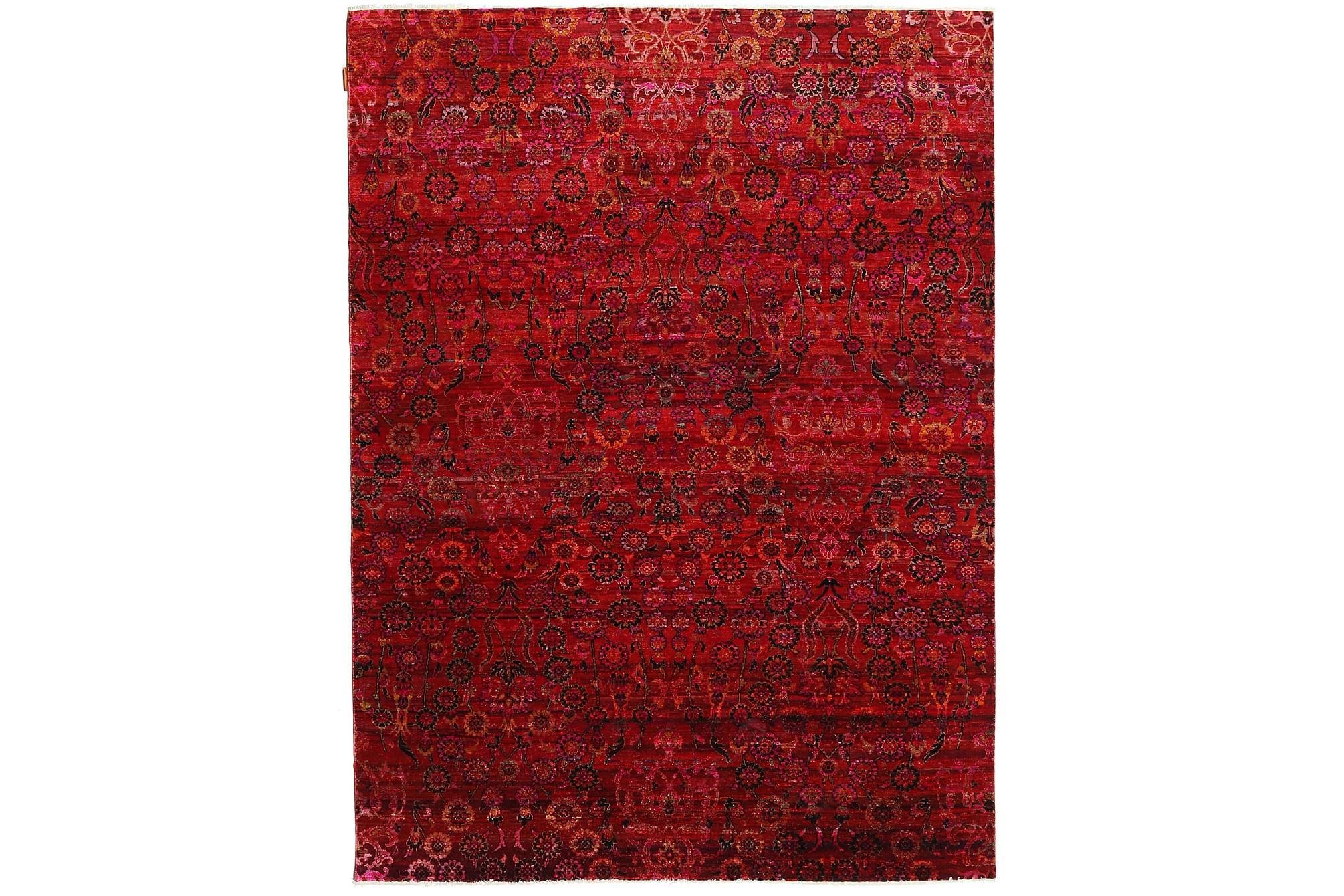 Stor Silkesmatta Sari 177×240