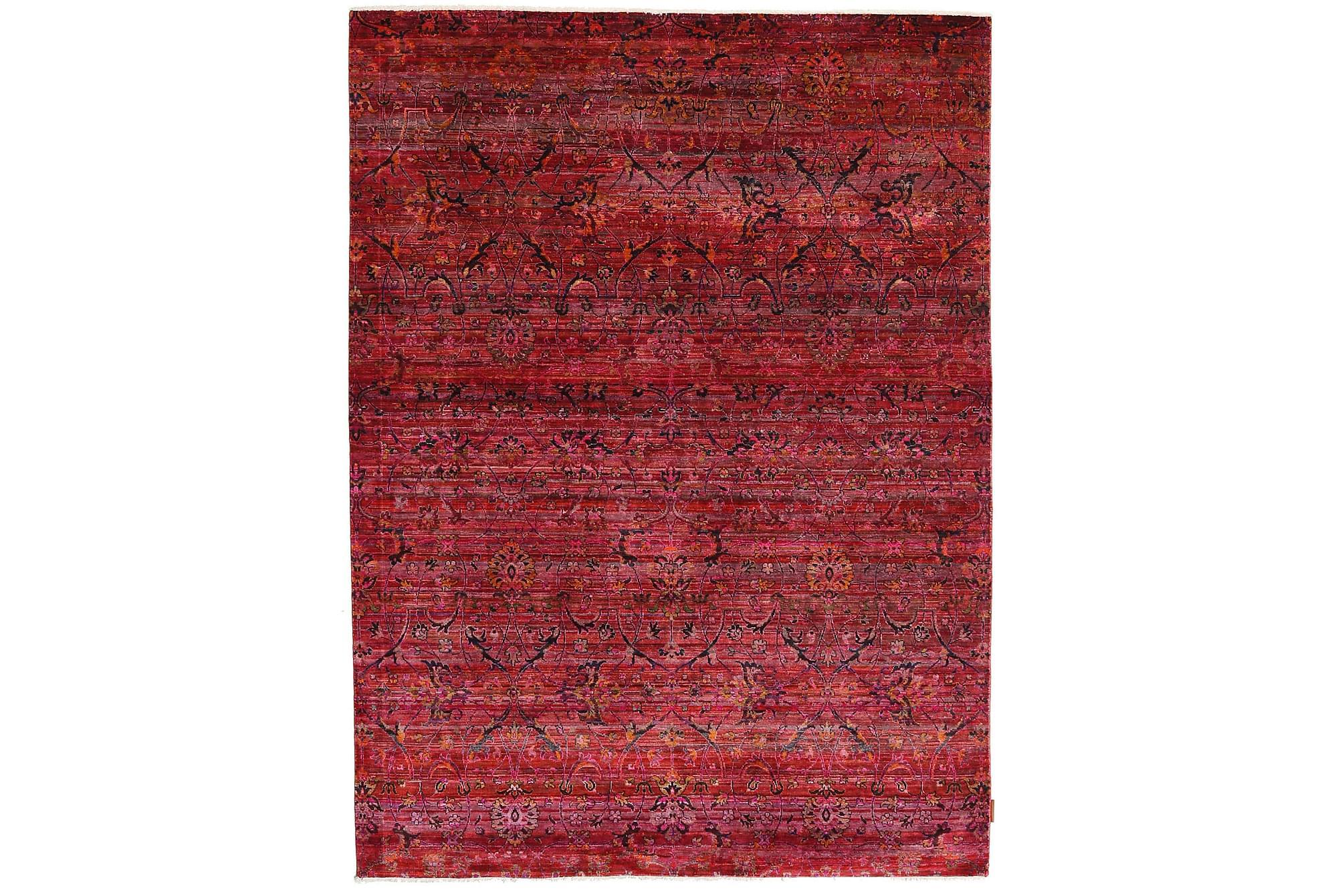 Stor Silkesmatta Sari 178×242
