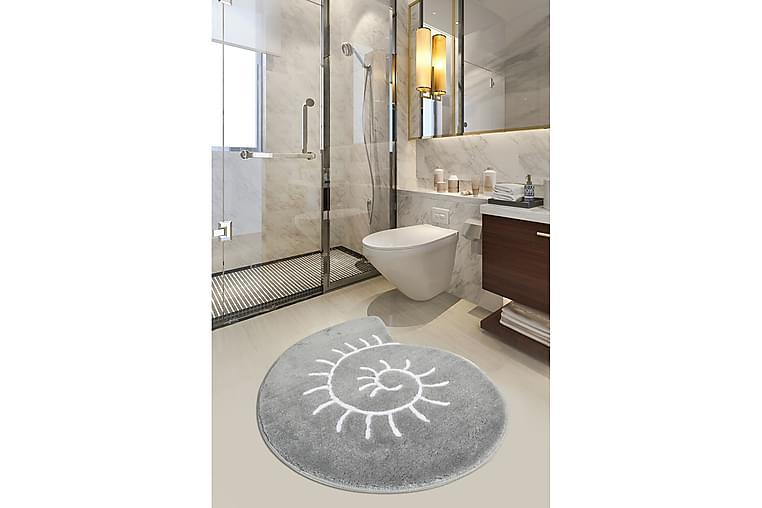 CHILAI HOME BY ALESSIA Badmatta 90x90 Multi - Möbler & Inredning - Mattor - Badrumsmattor