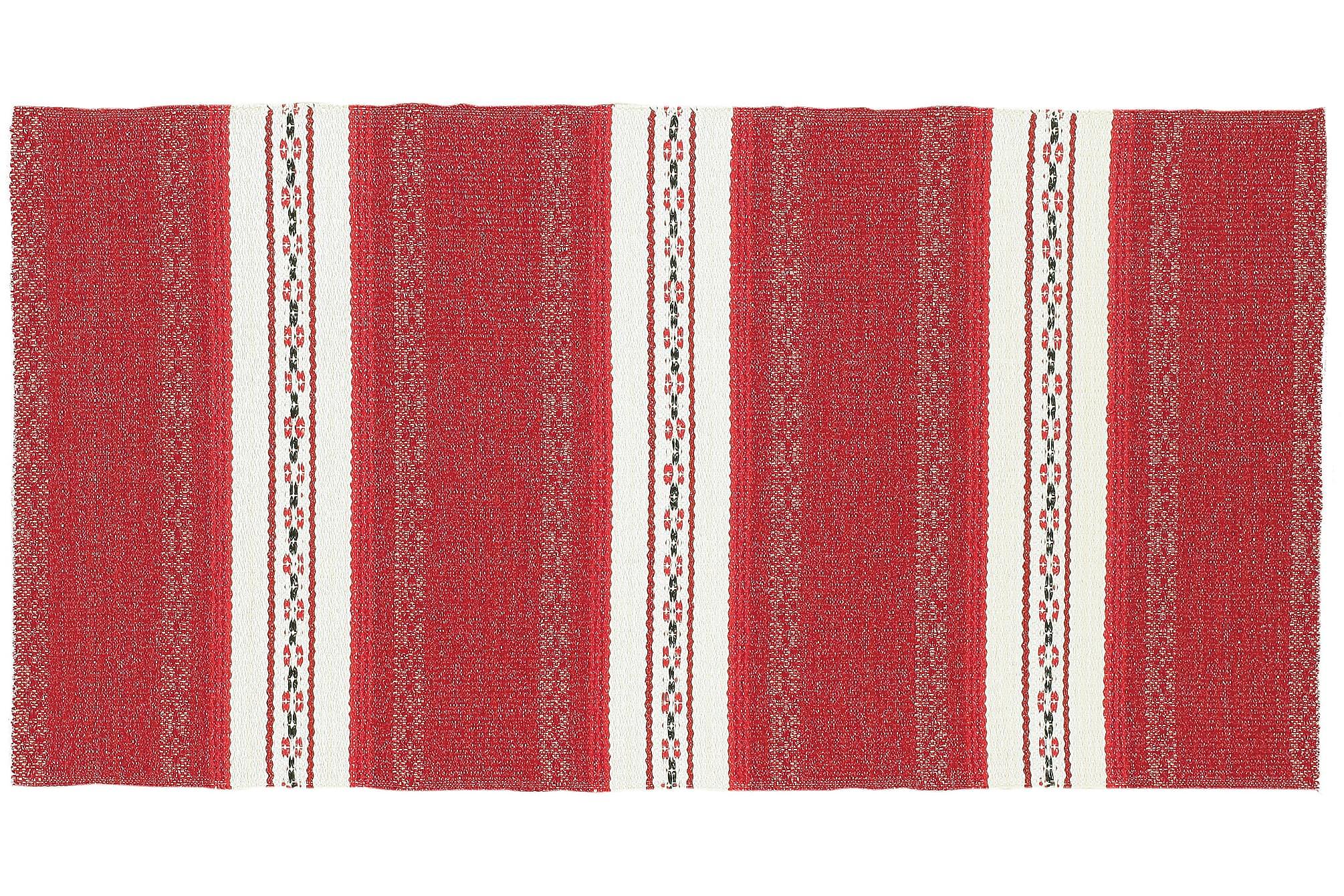 ASTOR Plastmatta 150x150 Vändbar PVC Röd, Balkongmattor & utomhusmattor
