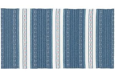 ASTOR Plastmatta 70x320 Vändbar PVC Blå