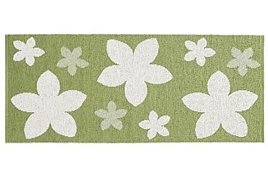 FLOWER Plastmatta 70x350 Vändbar PVC Grön