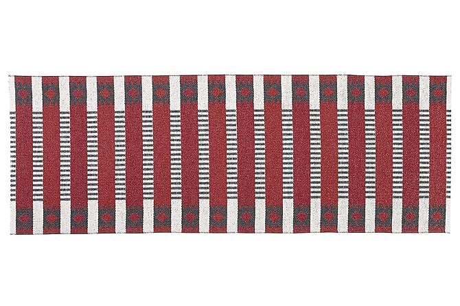 MÄRTA Plastmatta 150x250 Vändbar PVC Röd - Möbler & Inredning - Mattor - Balkongmattor & utomhusmattor
