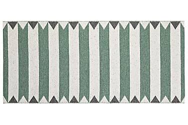 PEAK Plastmatta 70x150 Vändbar PVC Grön