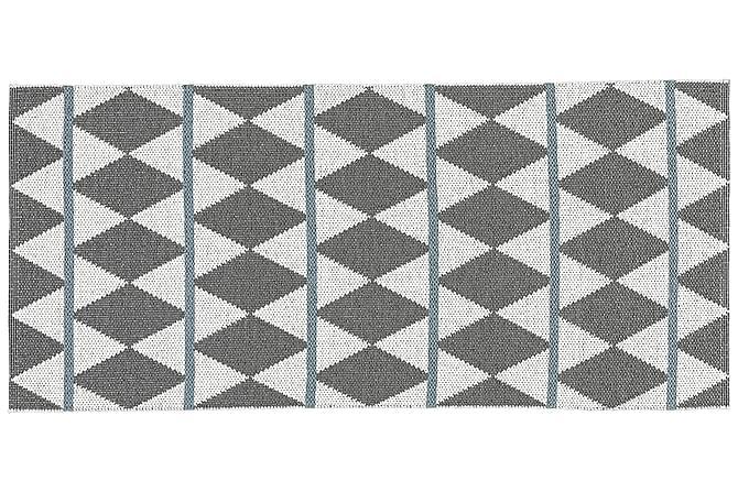 ZIGGE Plastmatta 70x300 Vändbar PVC Grå - Möbler & Inredning - Mattor - Balkongmattor & utomhusmattor