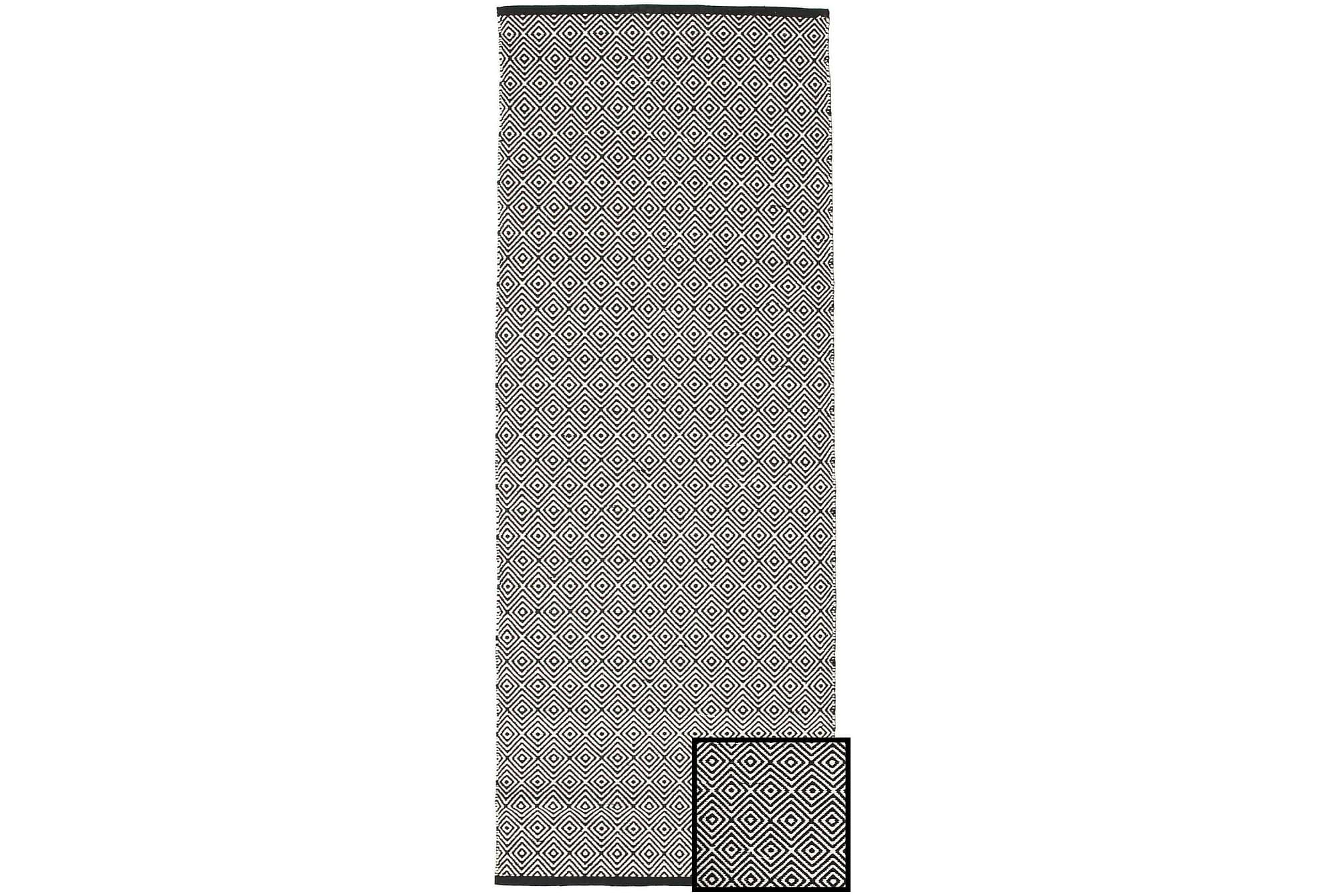 DIAMOND Bomullsmatta 80×250 Stor Grå
