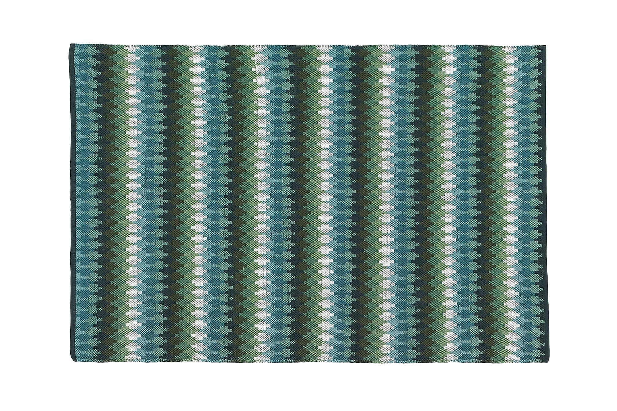 ETHNO Bomullsmatta 140×200 Salvia