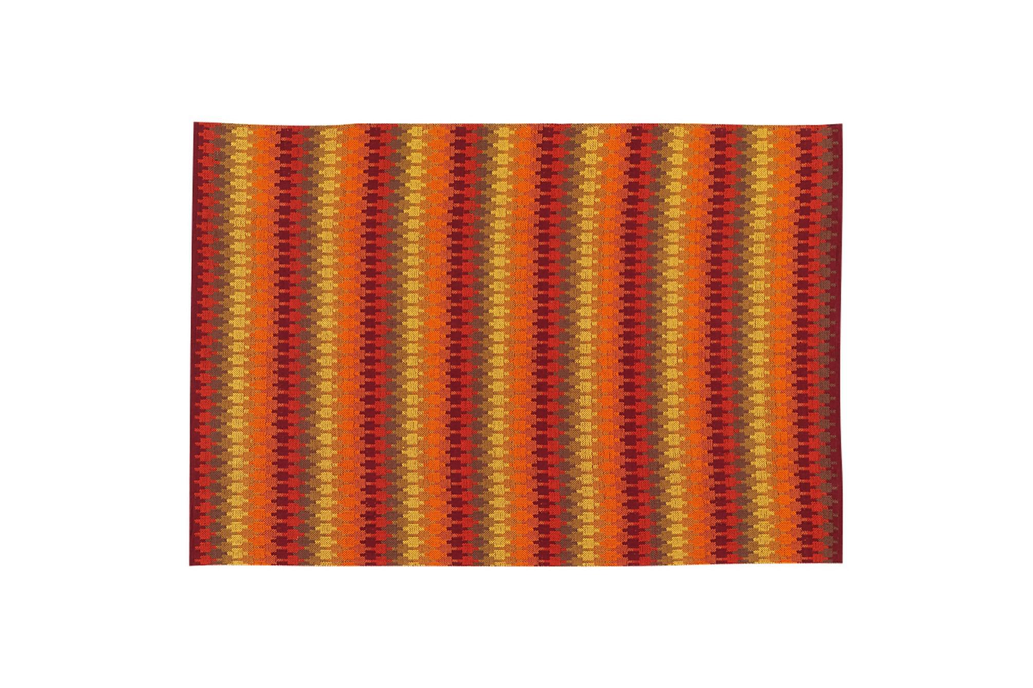 ETHNO Bomullsmatta 80×200 Orange