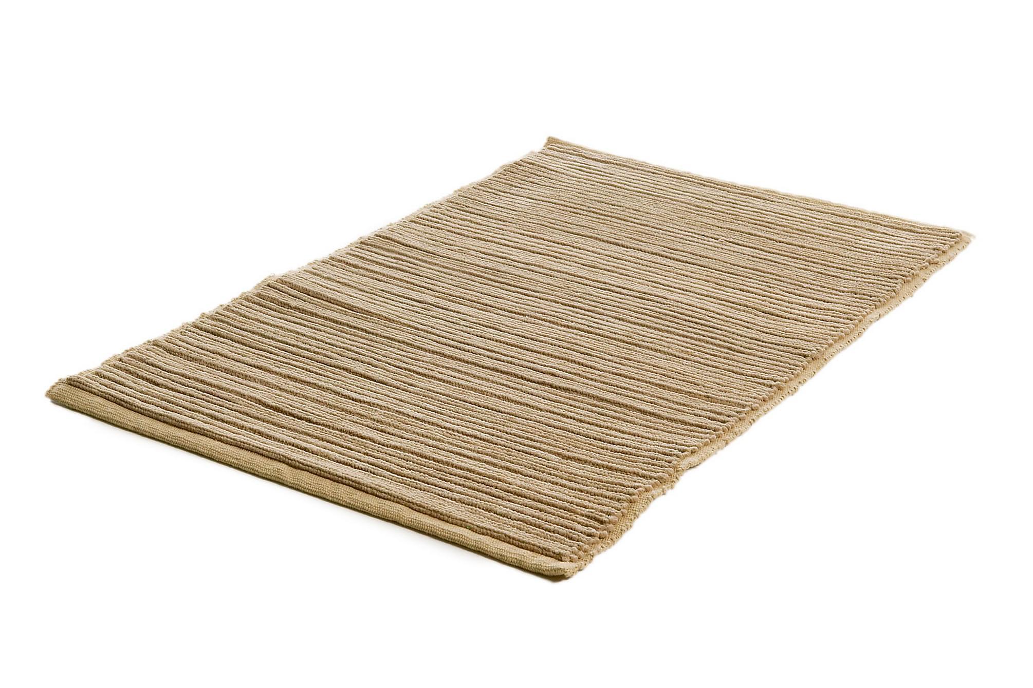 RIBB Bomullsmatta 60×90 Ljusbrun