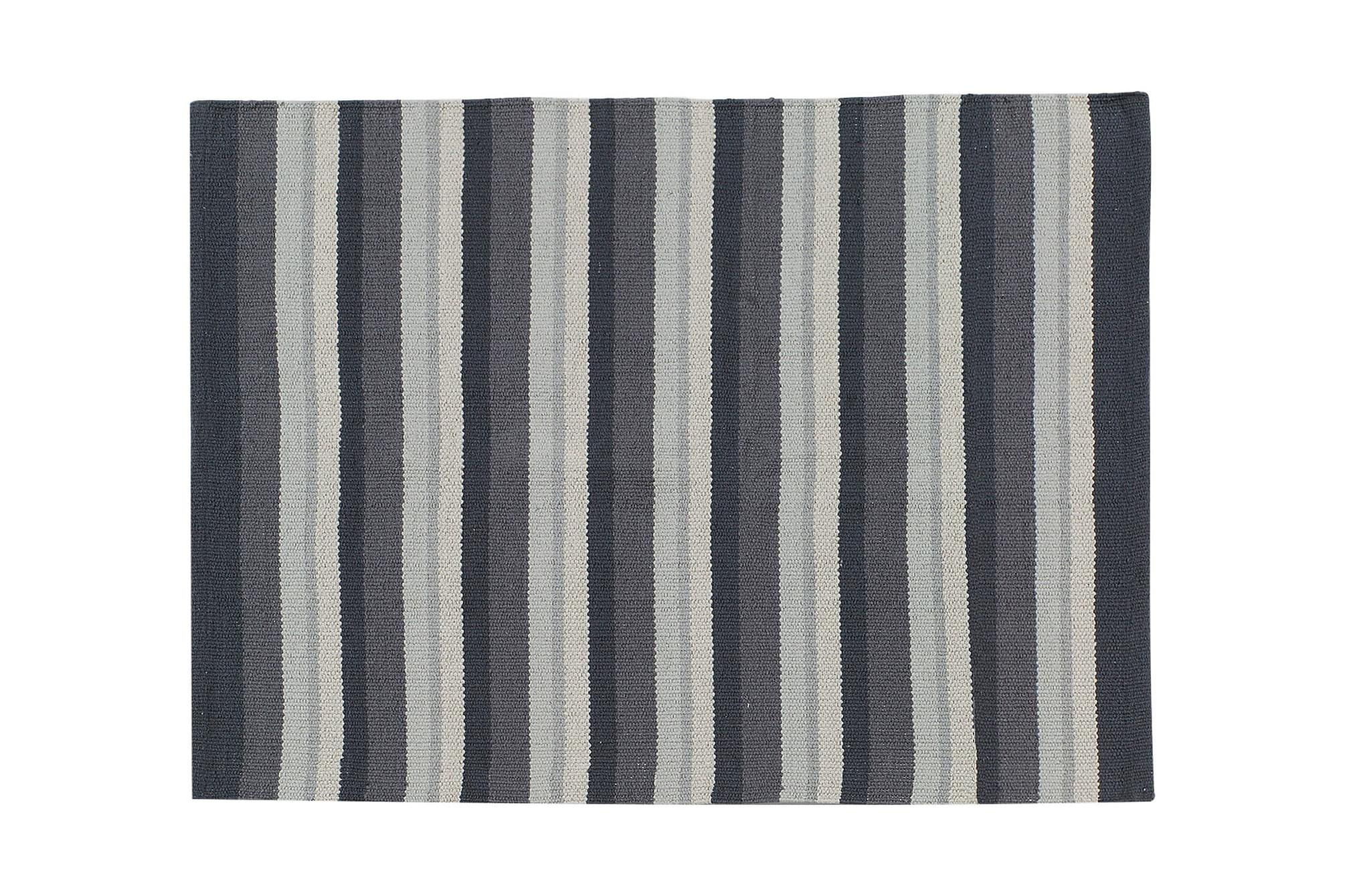 STRIPE Bomullsmatta 50×80 Granit