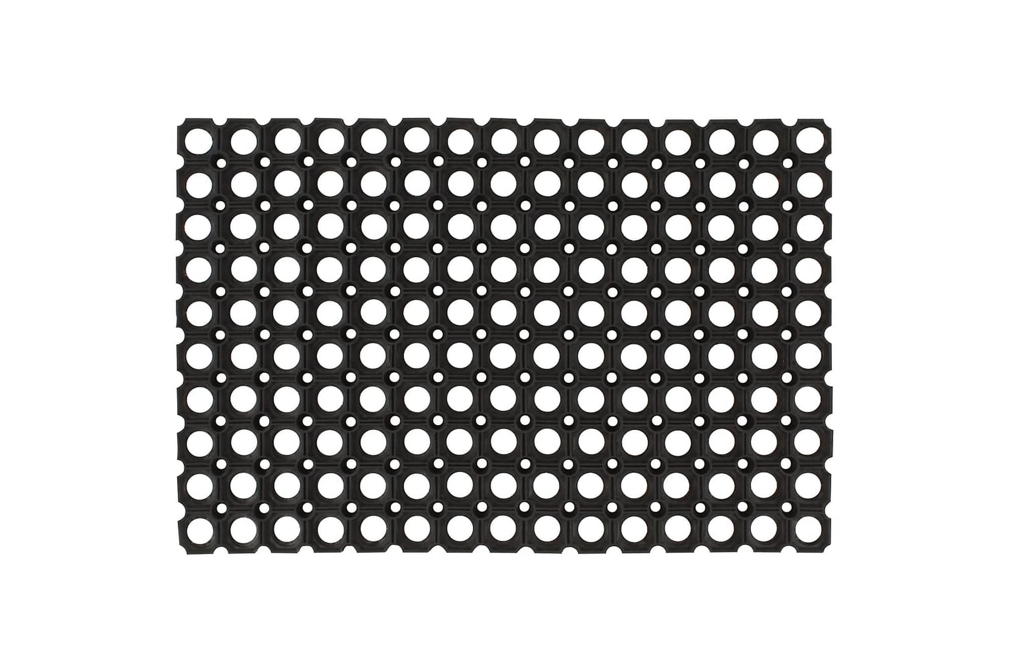 Gummimattor 5 st 16 mm 40×60 cm