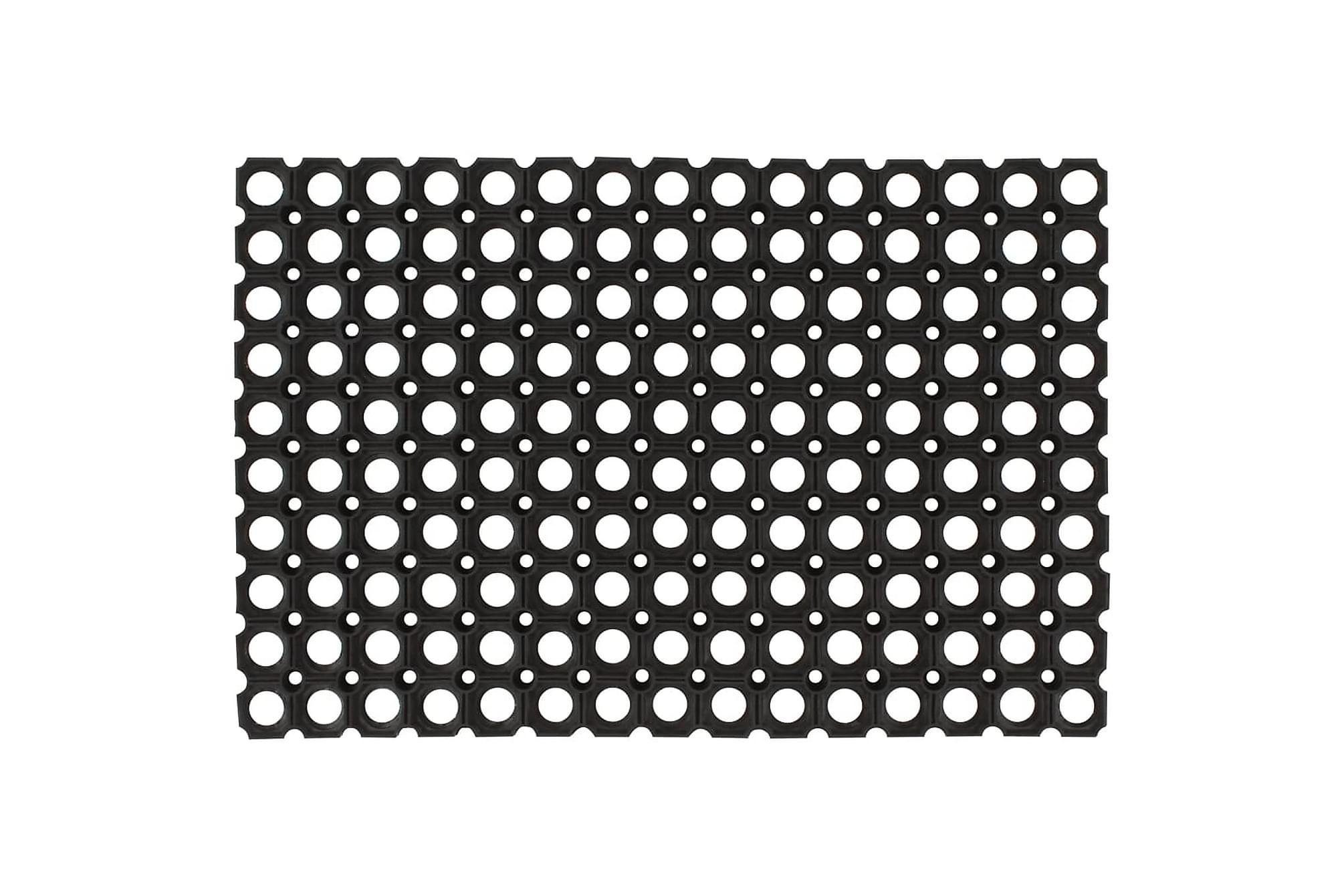 Gummimattor 5 st 23 mm 40×60 cm