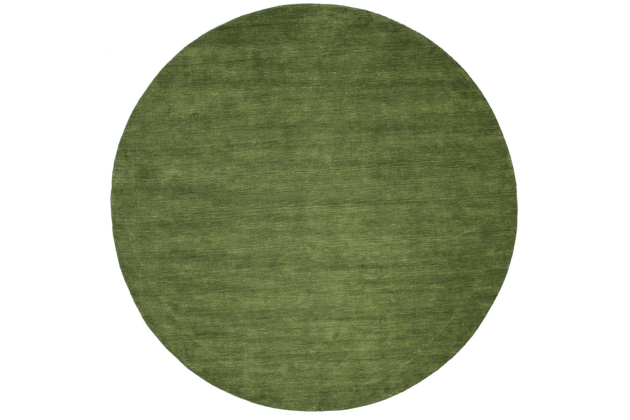 HANDLOOM Matta Rund 150 Grön