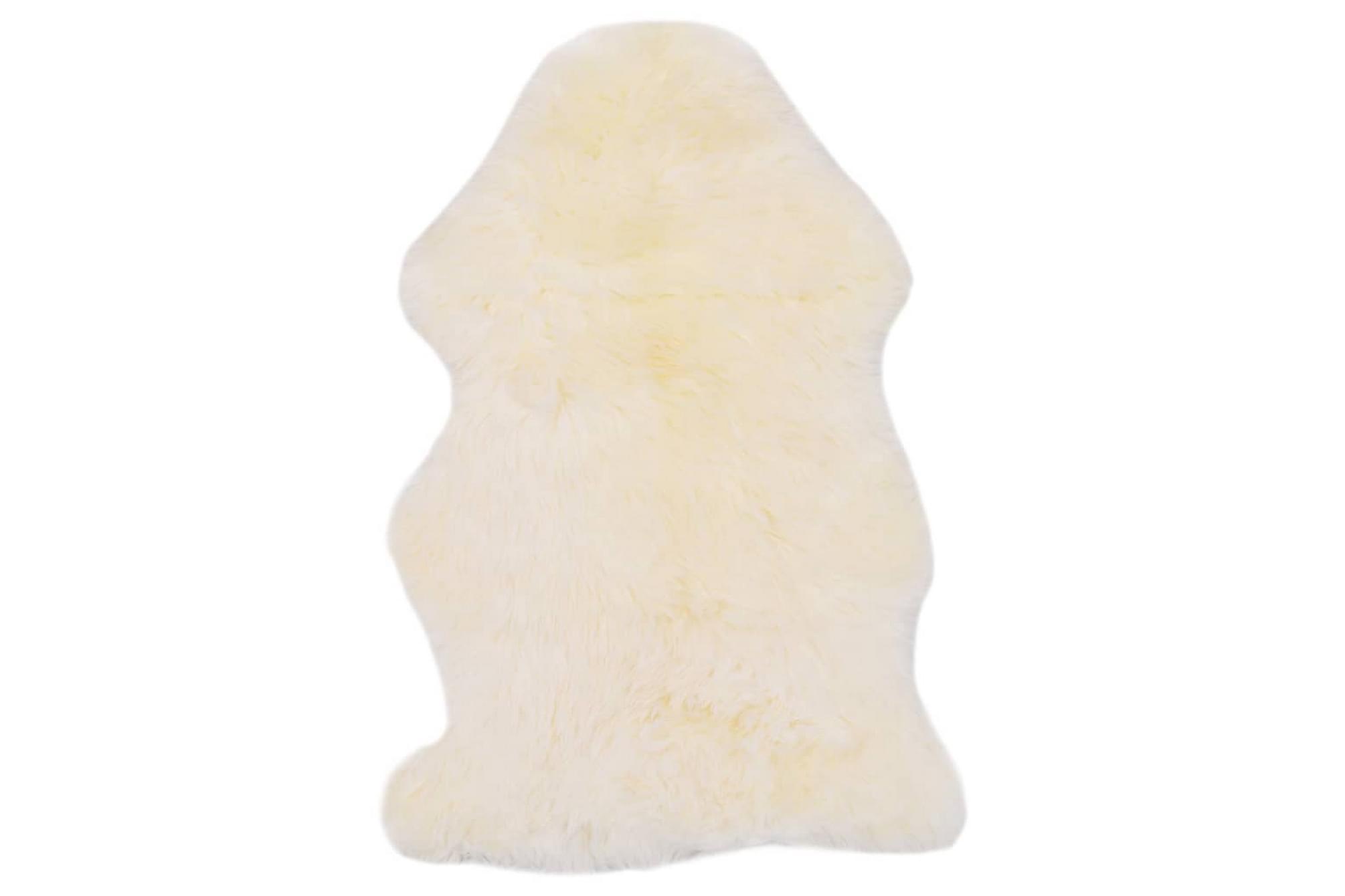 Fårfäll 60×90 cm vit