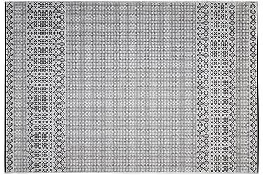UDOM Matta 80x340 Silver/Svart