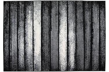 MASACO Matta 160x230 Grå/Svart