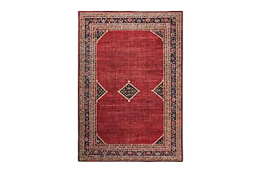 VENOUX Afghan Friezematta 133x190 Röd