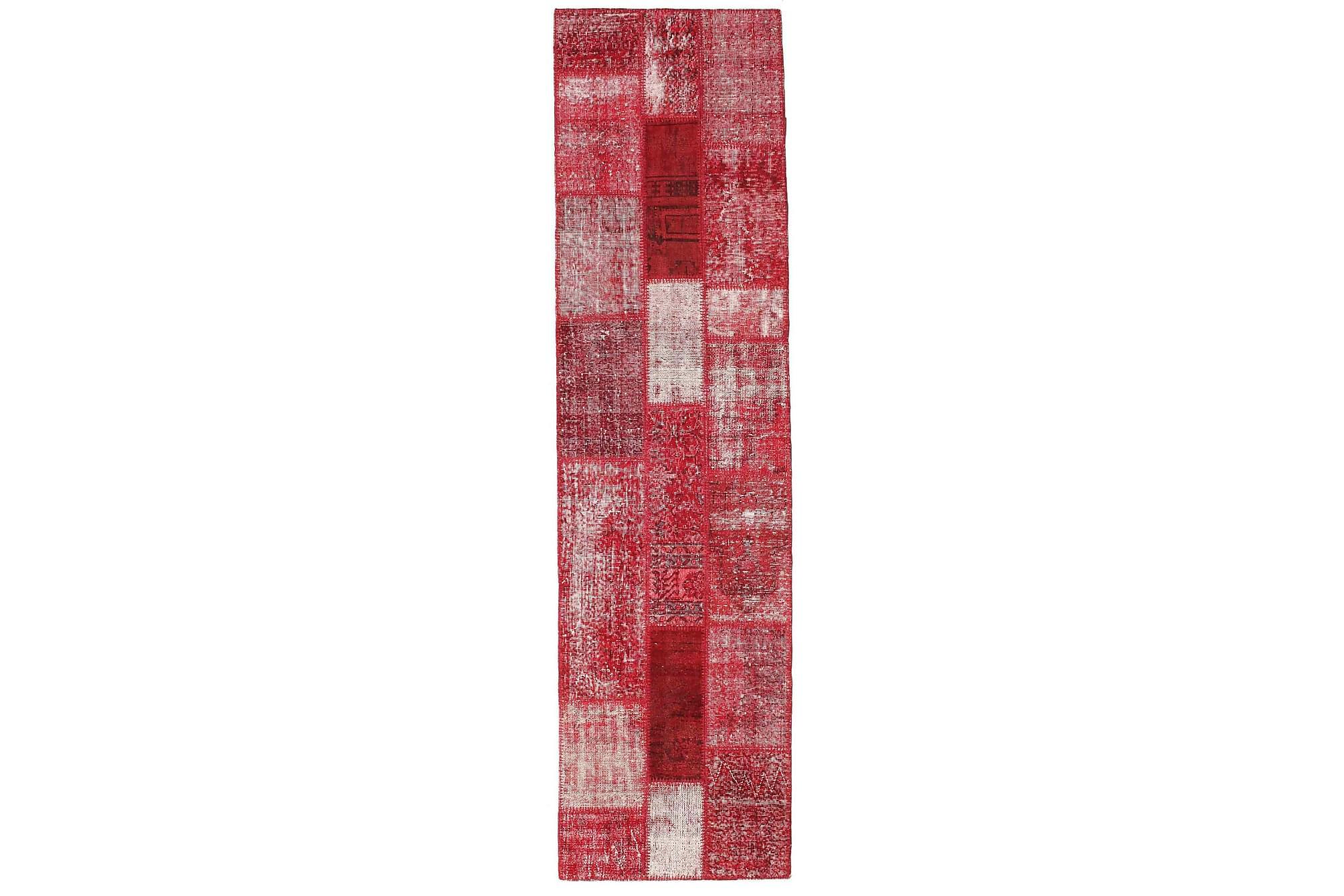 AGADIR Gångmatta 80×305 Stor Modern Röd