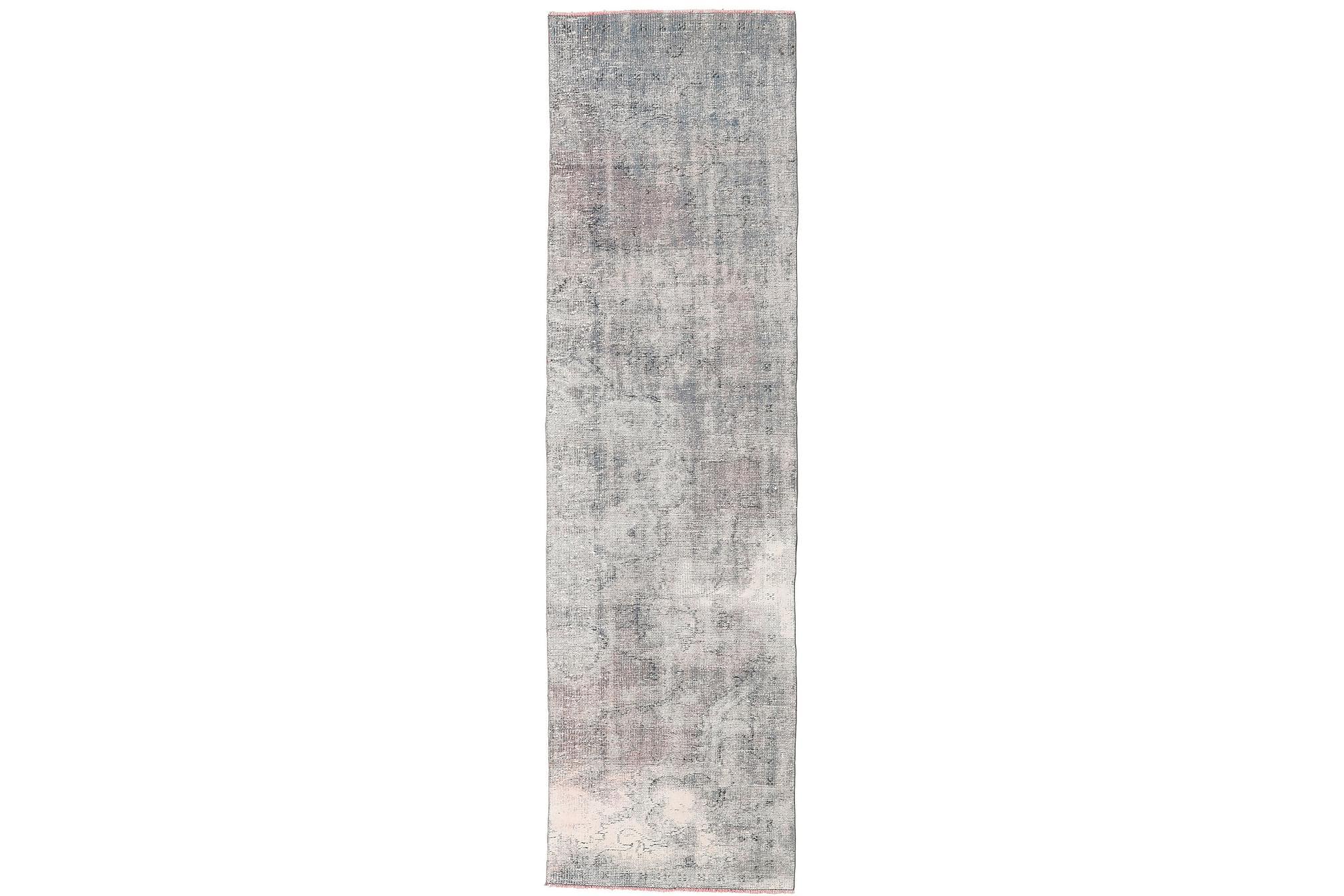 COLORED VINTAGE Gångmatta 84×300 Stor Beige/Grå