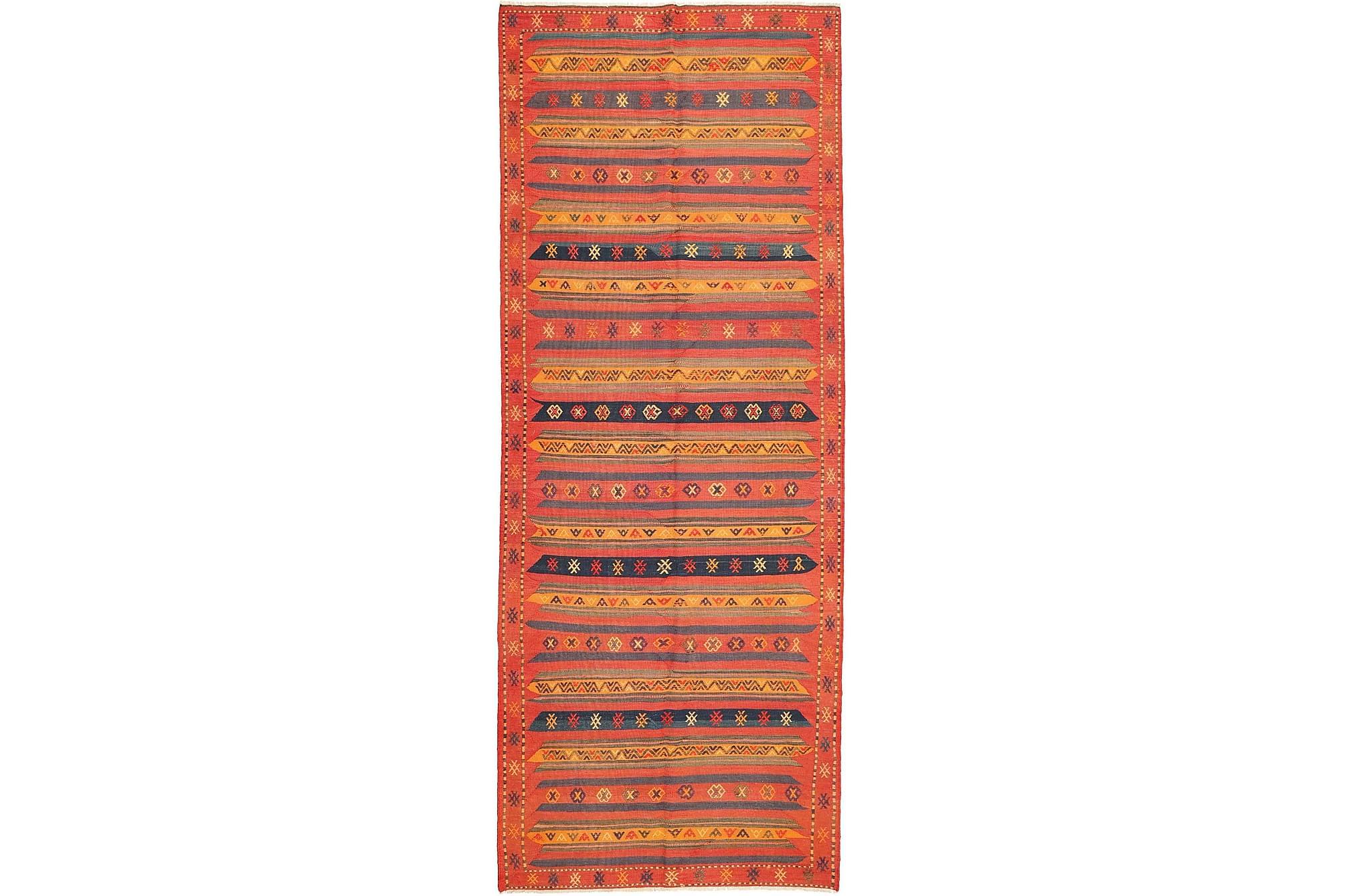 GÅNGMATTA 160×420 Stor Orange
