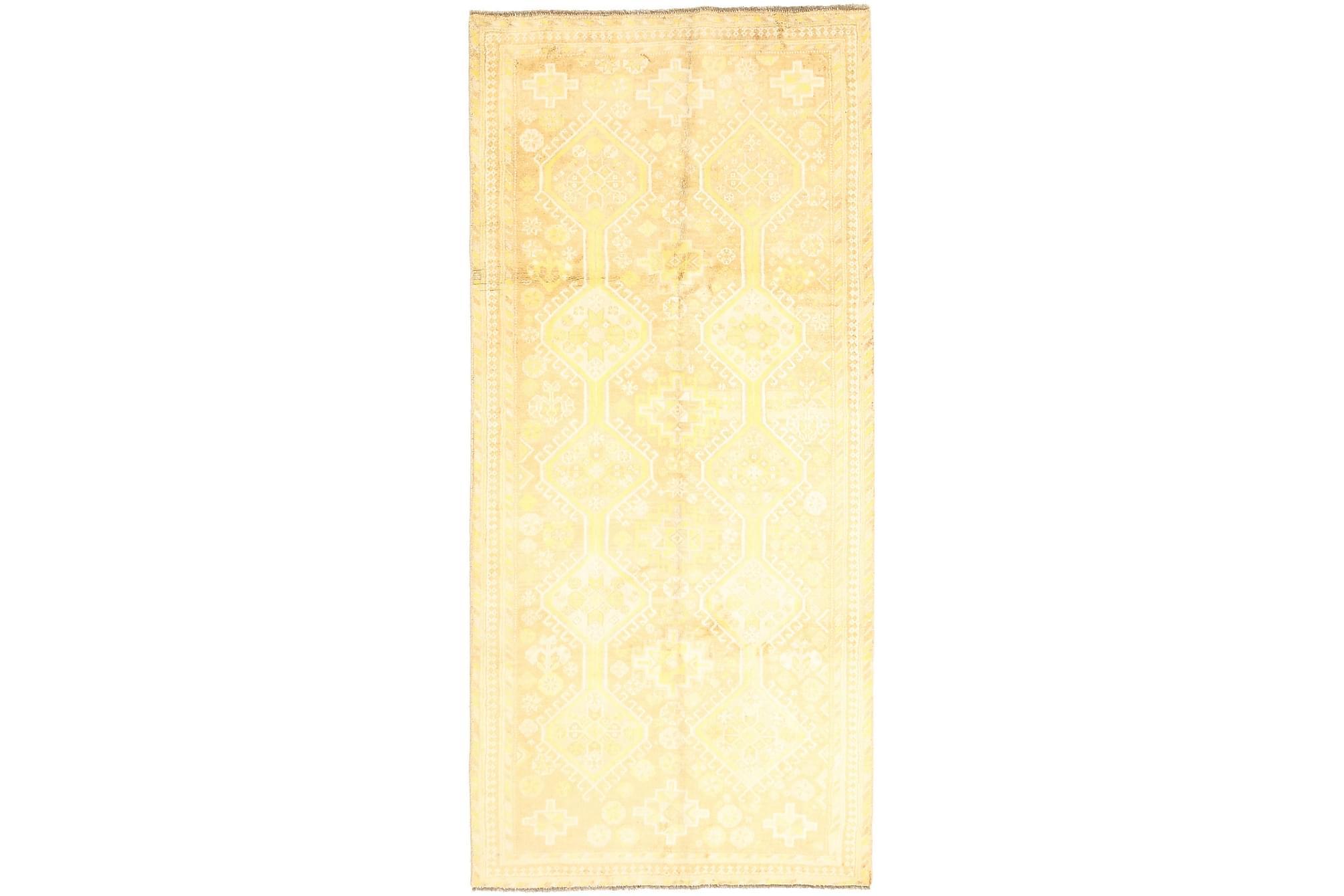 GHASHGHAI Gångmatta 128×286 Persisk Beige