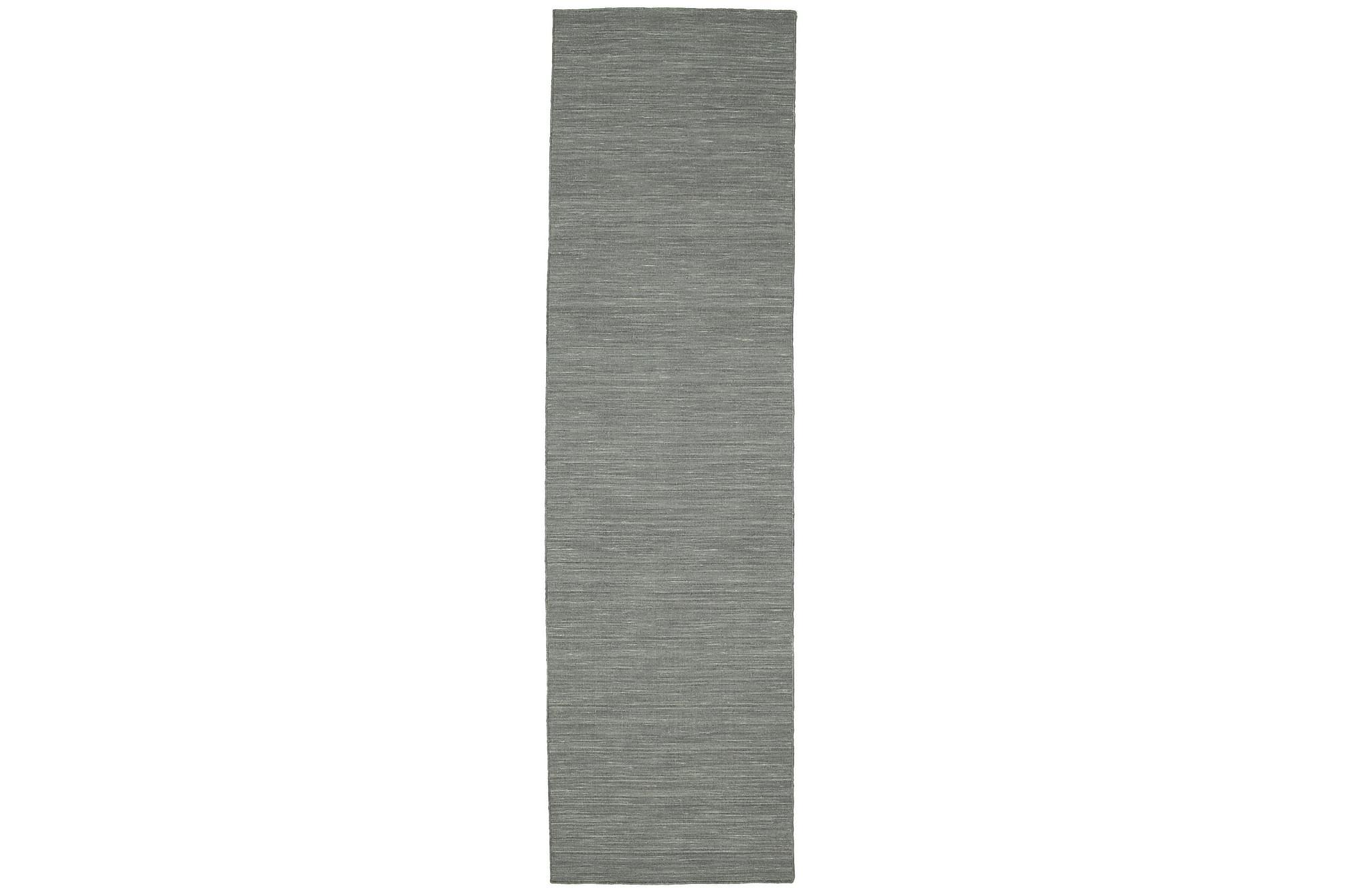 LOOM Gångmatta 80×300 Stor Grå