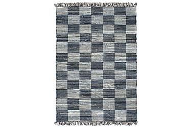 HANDVÄVD matta Chindi denim 80x160 blå