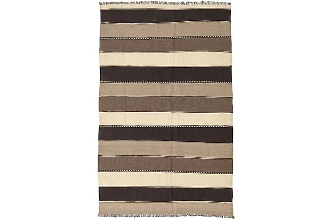 Orientalisk Kelimmatta 132x205 - Beige|Brun - Inomhus - Mattor - Kelimmattor